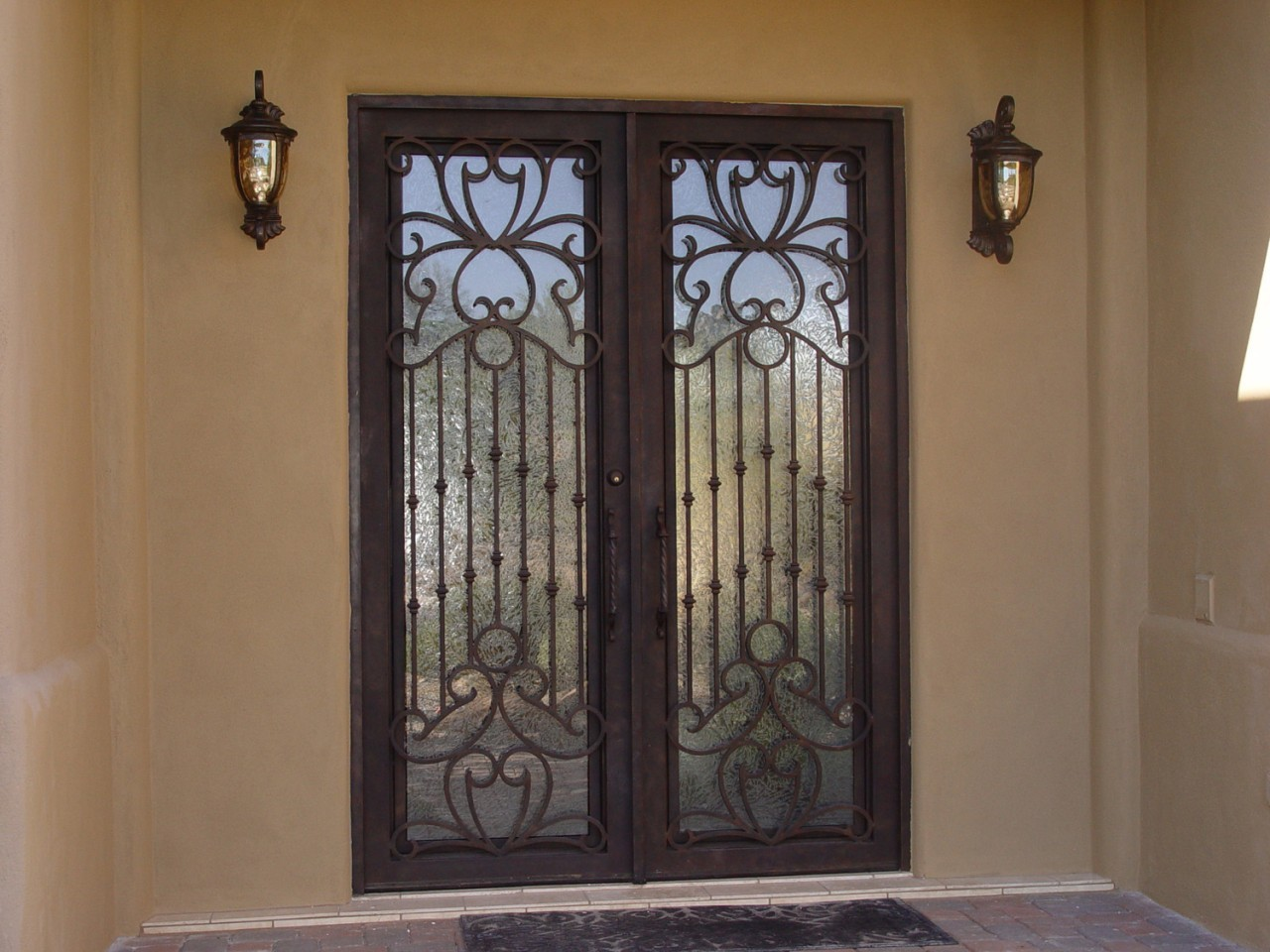 Appealing front door security screens brisbane ideas for Double entry storm doors