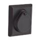 Deadbolt Rustic Square